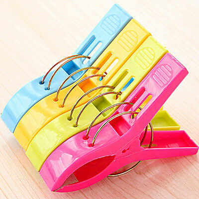 Popular 4PCS Beach Towel Clip Sun Lounger Sunbed Peg Sunbed Pool Cruiseship