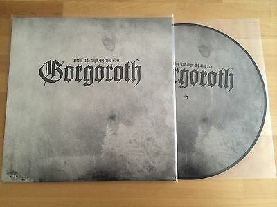 GORGOROTH - Under the Sign of Hell 2011 PICTURE LP LTD 500 Soulseller Rec