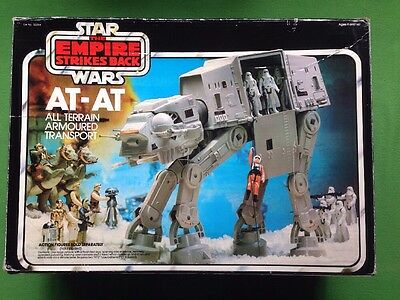 Vintage Star Wars AT-AT Walker Working Boxed Complete Action Figure Vehice