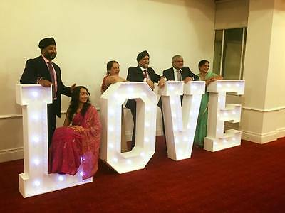 GIANT LED 'LOVE' Letters for *HIRE*
