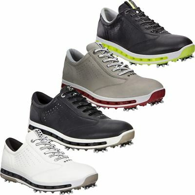 ECCO 2017 Cool GORE-TEX Spikes Waterproof -Dritton Leather Mens Golf Shoes
