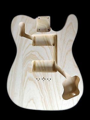 Telecaster Guitar Deluxe 72 Body / Swamp ash / 3 piece /1.68kg / 003348