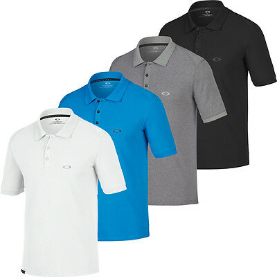 NEW 2017 Oakley Golf Dri-Release® Icon Polo SS Performance Mens Golf Polo Shirt