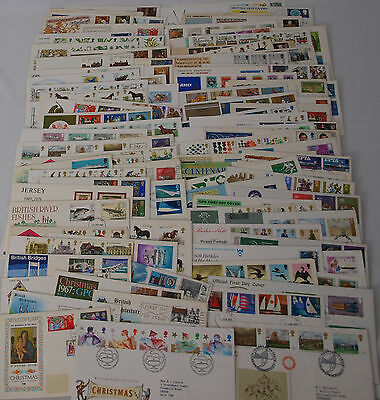 Job lot / Bundle of 100 First Day Covers , FDC , Stamps