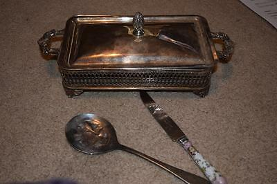 Sheffield silver plated collection ENGLAND, Cassorole Dish Holder  GERMANY