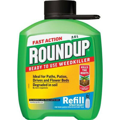 NEW Fast Acting Roundup Refill 2.5L rrp £15.90 OUR PRICE £11.99
