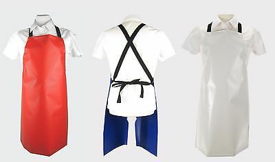 Assorted Child PVC Halter Aprons Child Cross Back PVC Aprons Flame Retardant