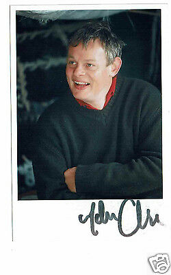 Martin Clunes Actor Men Behaving Badly Hand signed Photograph  6 x 4
