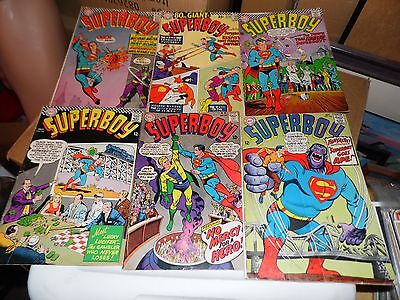 Superboy lot of 6 books #135 #138 #139 #140 #141 and #142
