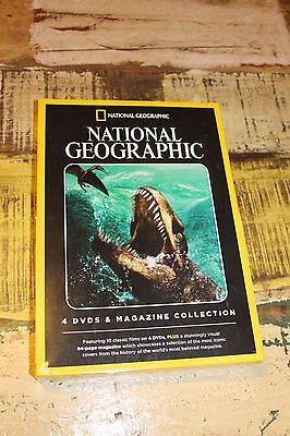 National Geographic - 4 DVD and Magazine Collection