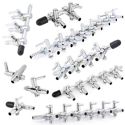 Air Flow Distributors. Controller Valves for Aquarium Fish Tank Pond Pump Hose
