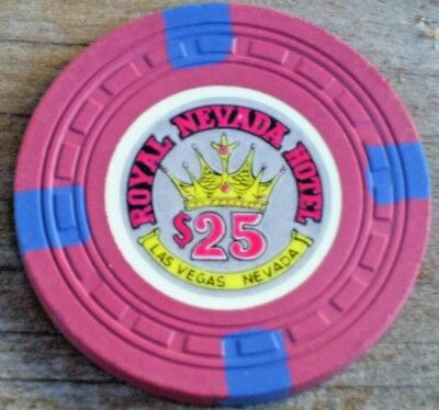 $25 1St Edition 1955 Gaming Chip From The Royal Nevada Casino In Las Vegas