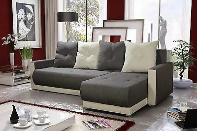 Corner Sofa Bed Storage Left Or Right Hand Side Chaise