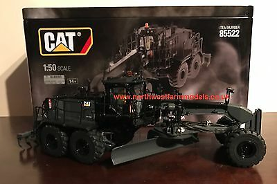 "Diecast Masters 85522 1:50 Scale Cat 18M3 Motor Grader ""black Onyx Finish* (Mib)"