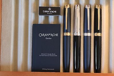 *SALE* Caran d'Ache Leman Fountain Pen Collection 2 colors to choose from