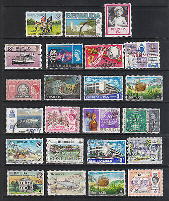 Bermuda selection - 23 stamps mint and used mixture.