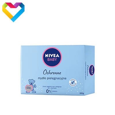 NIVEA BABY GENTLE CARE BAR SOAP HYPOALLERGENIC FOR BATH BABY CHILDREN 100g 80500