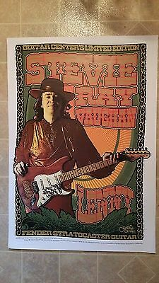 Stevie Ray Vaughan-Guitar Center Limited Edition Lenny Poster-2008-Chuck Sperry
