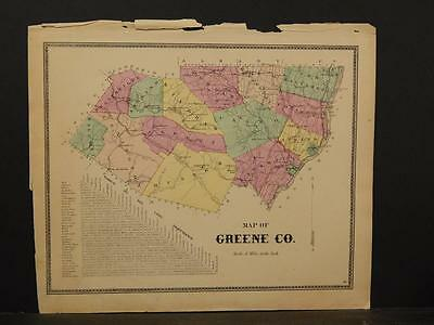 New York, Greene County Map, 1867, !Y4#08