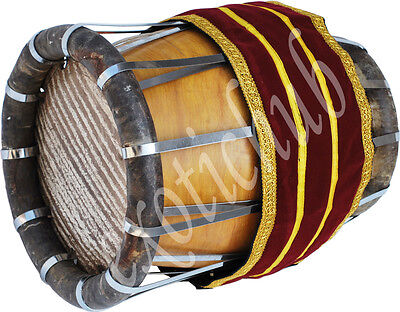 Thakil~Thavil~South Indian Drums~Professional Quality~ Jack-Fruit Wood~Mridangam