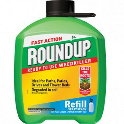 NEW Fast Action Weedkiller Refill 5L
