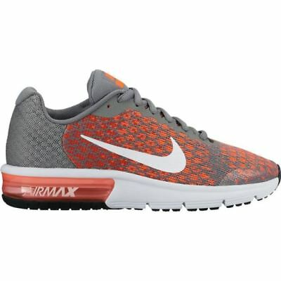 outlet store 5bc89 75d93 Nike Air Max Sequent 2 869993 002 Grey orange Junior Uk 3-6