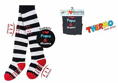 Thermo crawling tights for babies with ABS-print, Children Tights CH - 5771