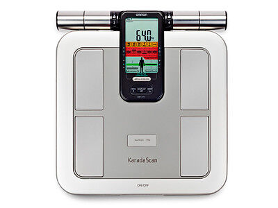 New Omron Hbf-375 Body Composition Weighing Scale Machine Scan Body Fat