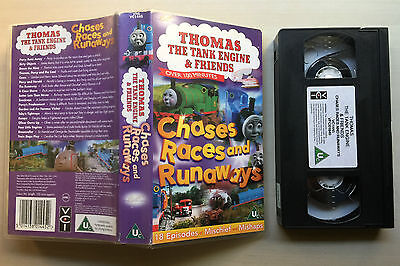 Thomas The Tank Engine & Friends - Chases, Races And Runaways - Vhs Video
