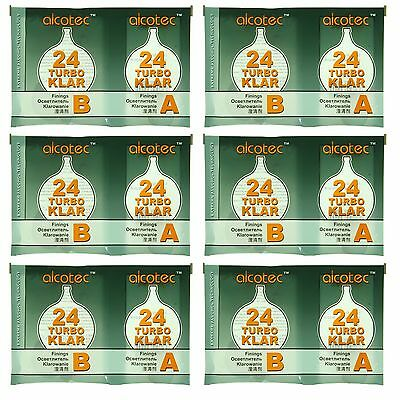 Alcotec TurboKlar Turbo Clear (Pack of 6) - Just $3.00 per Package!