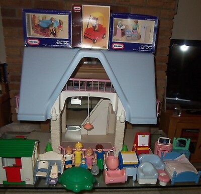 Little Tikes Dolls House, Furniture & Figures Use In/outdoor- Home Or Pre-School