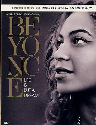 Used  Dvd //  Beyonce // Life Is But A Dream // 2 Dvd Set // Live In Atlantic Ci