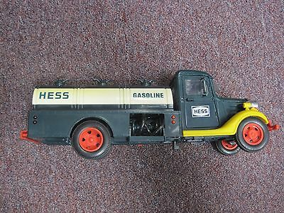 Vintage 1985 First Hess Truck Toy Bank , Lights work.  No Box