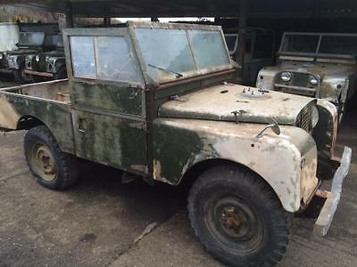 Land Rover Series 1 86 inch SWB For Restoration, Superb Chassis and Bulkhead