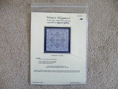 Winter Elegance Hardanger Pattern Rosalyn Watnemo Design Rainbow Gallery