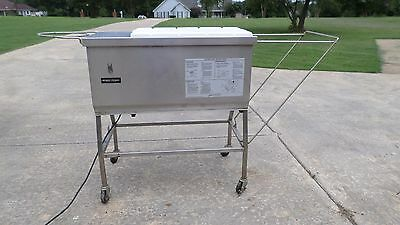 Henny Penny Breader Blending Sifter Table Station Chicken Fish Meat Breading