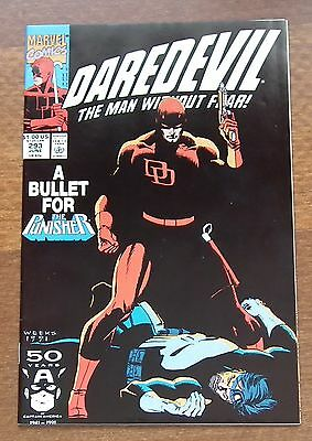 Daredevil 1991 #293, The Man without Fear, NM 9.2 to 9.6, Marvel, Chichester.