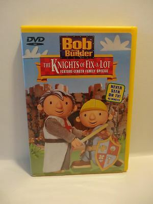 """Bob The Builder  """" The Knights Of Fix A Lot """"...dvd"""