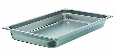 "Update International (SPH-1002) 2.5"" Full-Size Anti-Jam Steam Table Pan New"
