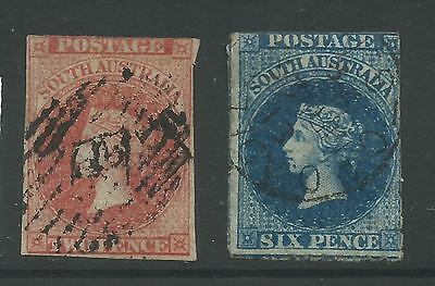 South Australia - 1856 ? To 1859 - Wmk Large Star -  Good Used - No Reserve