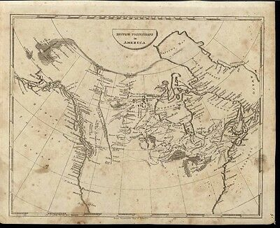 British Possessions North America Canada 1812 Arrowsmith Lewis rare antique map
