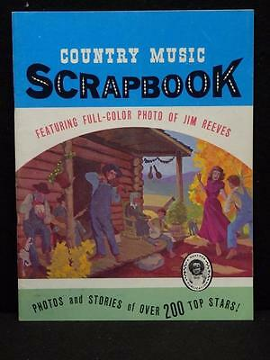 Vintage 1968 Country Music Scrapbook Photos Jim Reeves. Heather Publication 1158