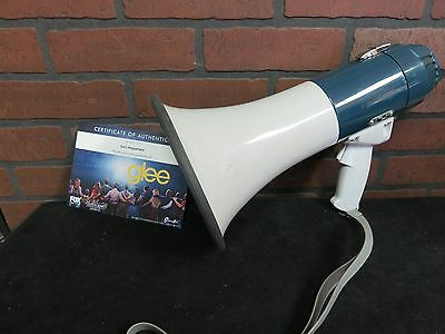 GLEE SCREEN USED Sue Sylvester Megaphone  STUDIO COA