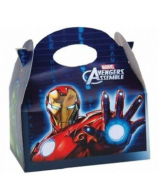 Wholesale Job Lot 48 Marvel Avengers Themed Food Boxes *Party *Boys *Girls