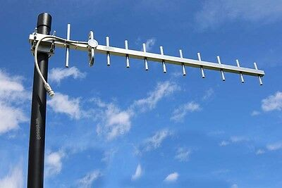 13dBi 850MHz 3G Yagi Antenna Suitable for Telstra, Optus or Vodafone 3G + Coax