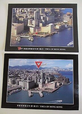 Two Postcards of The Salisbury YMCA in Hong Kong