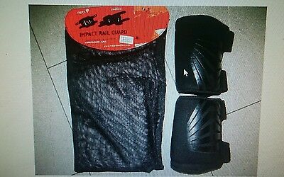 R.e.d. Protection Low Profile Shin Rail Guards Jib Without Fear L Snowboard