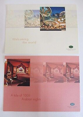 Two Postcards of the Sunway Lagoon Resort Hotel in Malaysia