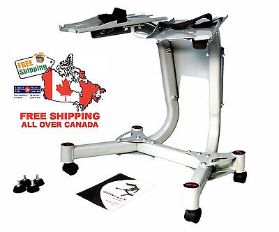 Bowflex Stand for 1090 / 552 Dumbbells New Sealed With Wheels Free Shipping BNIB