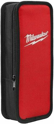 Milwaukee Test and Measurement Meter Case Rugged Nylon 3 sided Zipper Strap